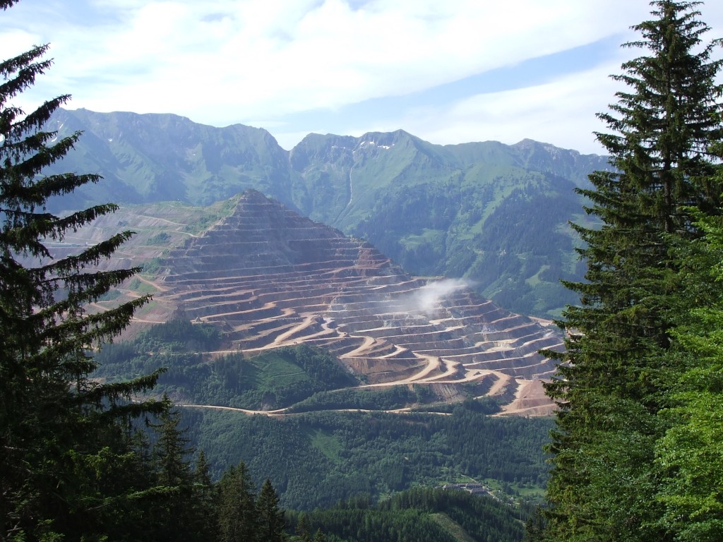 L'Erzberg Rodeo : la montagne Erzberg en Autriche