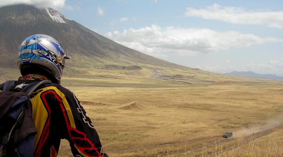 Planet Ride - Voyage Moto Kenya- Piste du Volcan Langai