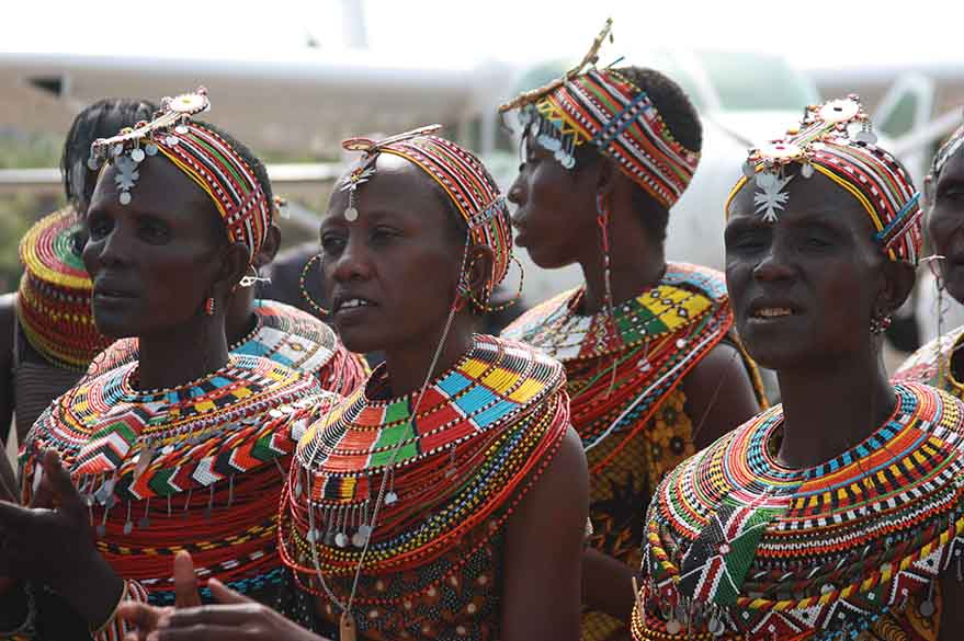 Tribe Samburu, on your trip to Kenya on Moto with Fred and Planet Ride