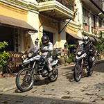 À Vigan, lors de votre voyage aux Philippines à moto avec Planet Ride et Philippe