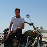 Guillaume - India - Motorcycle