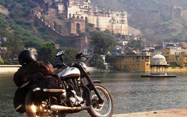 circuit moto au rajasthan en royal enfield