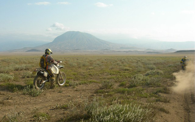 Voyage à moto en Afrique avec Planet Ride