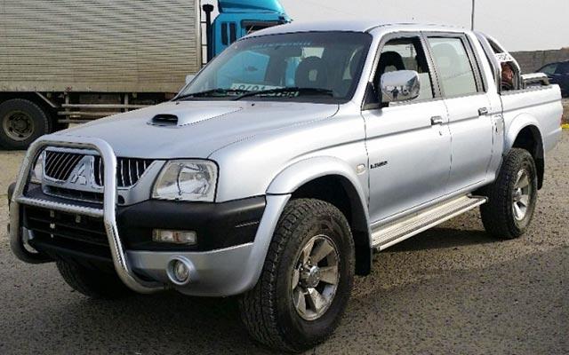 Votre L200, lors de votre voyage en Mongolie en 4x4 avec Planet Ride et Chukao
