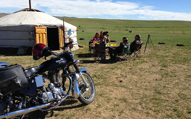 Mongolia Motorcycle tours