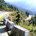 planet ride voyage moto bhoutan jakar gangtey courbes route montagne