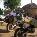 Votre Suzuki, lors de votre voyage au Burkina Faso à moto avec Planet Ride et Guillaume