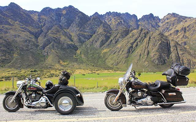 planet-ride-voyage-nouvele-zelande-moto-nord-montagnes-harleys-davidson