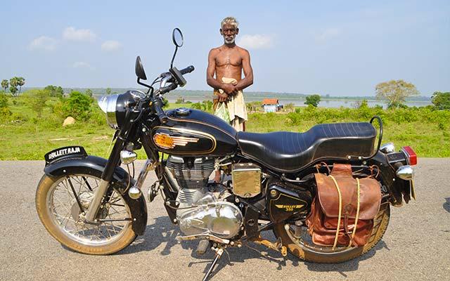 Votre Royal Enfield Bullet 350 cc, lors de votre voyage au Sri Lanka à moto avec Planet Ride et Ophélie
