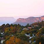 Les Blues Mountains circuit australie camping car