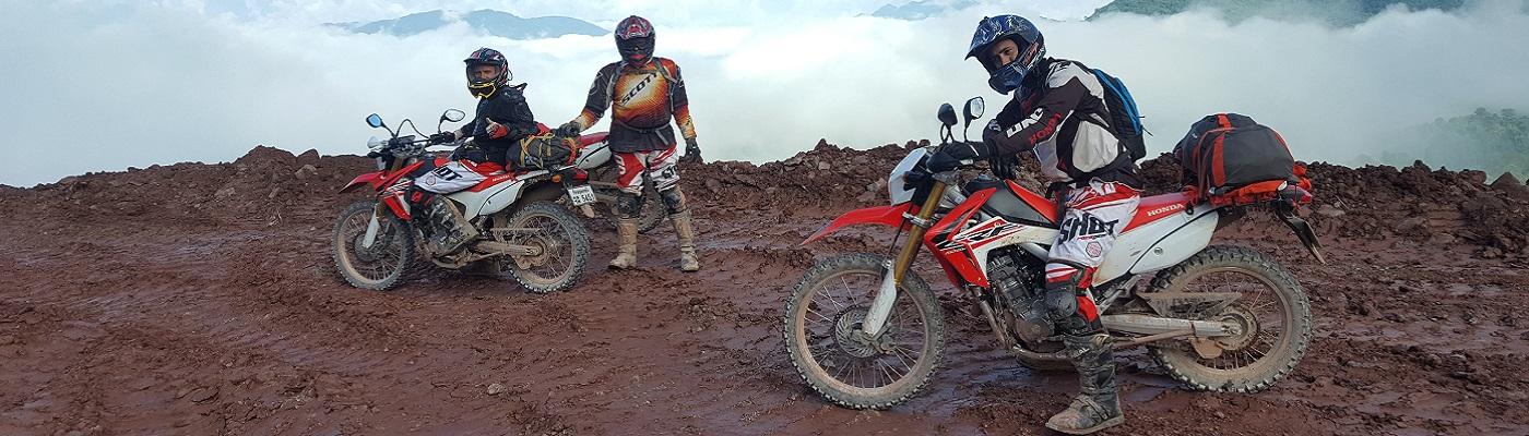 Laos à moto