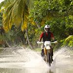 Voyage à Madagascar - À moto en forêt