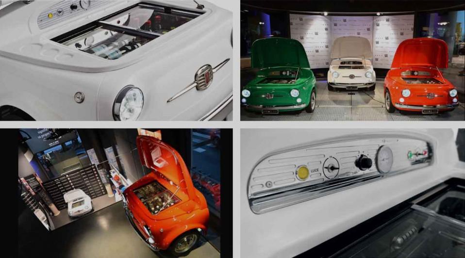 Frigo Fiat 500 Smeg Planet Ride
