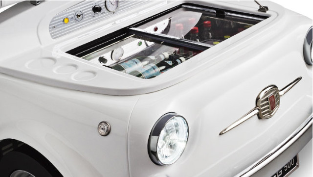 Fridge Smeg 500 made in Fiat 500