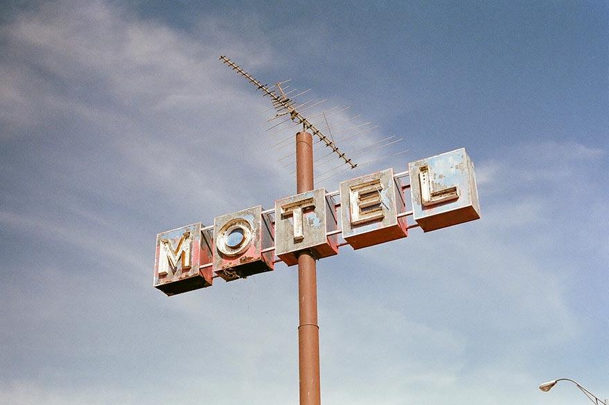 Motel sur la route de votre road-trip
