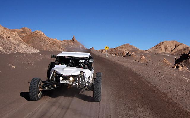 Sur les pistes de l'Atacama, lors de votre voyage au Chili avec Planet Ride et Jorge