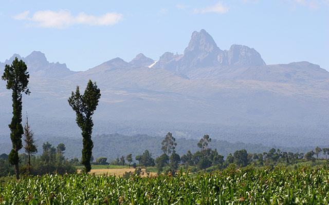 Mont-Kenya, lors de votre voyage au Kenya en 4x4 avec Planet Ride