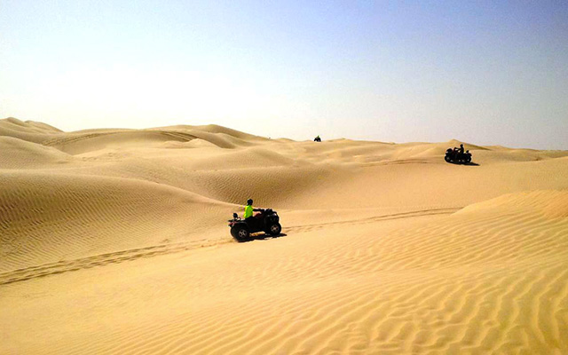 Voyage en Tunisie en quad avec une agence de voyage locale