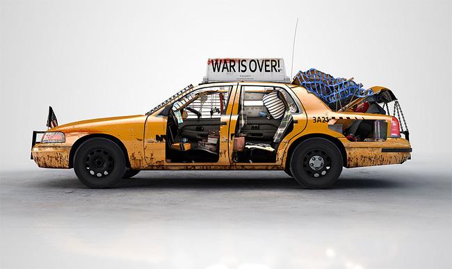 Taxi NYC anti-zombie