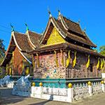 Luang Prabang, lors de votre voyage au Laos à moto avec Planet Ride et Charly