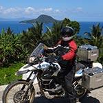 Route côtière, lors de votre voyage aux Philipines à moto avec Planet Ride et Philippe