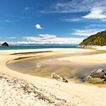 Abel Tasman National Park, lors de votre itineraire camping car en nouvelle zelande