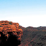 voyage camping car australie a Kings Canyon