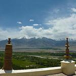 Vue depuis un temple himalayen, lors de votre voyage en Inde à moto avec Planet Ride