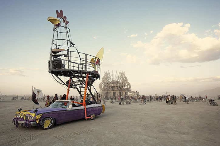 Art Car au Burning Man Festival