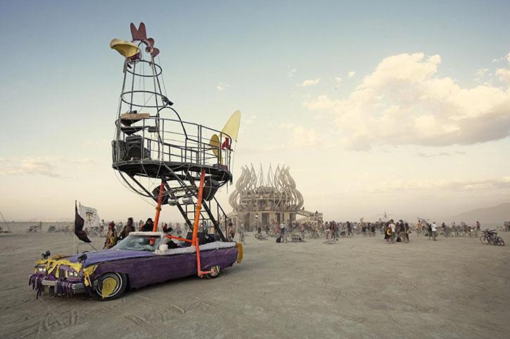 Art Car au Burning Man Festival