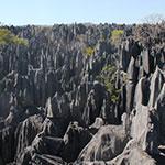 La réserve des Tsingy, lors de votre voyage à Madagascar à moto avec Planet Ride et Jean