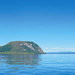 Lac Taupo, lors de votre voyage en Nouvelle-Zélande en camping-car avec Planet Ride et Fabrice