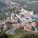 Panorama depuis les hauteurs de Sintra, lors de votre voyage au Portugal à moto, avec Planet Ride et João