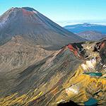 Le parc de Tongariro, lors de votre voyage en Nouvelle-Zélande en camping-car avec Planet Ride et Fabrice