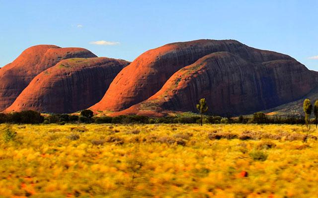 voyage camping car australie a Kata Tjuta