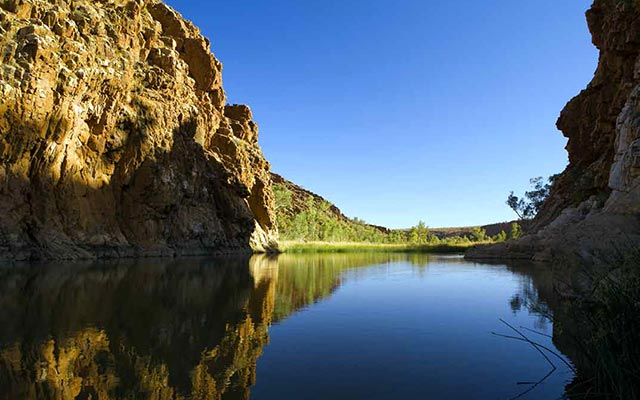 voyage australie camping car a Katherine Gorge