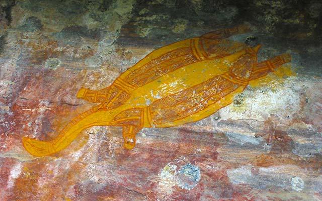 voyage en australie en camping car et peintures rupestres aborigènes
