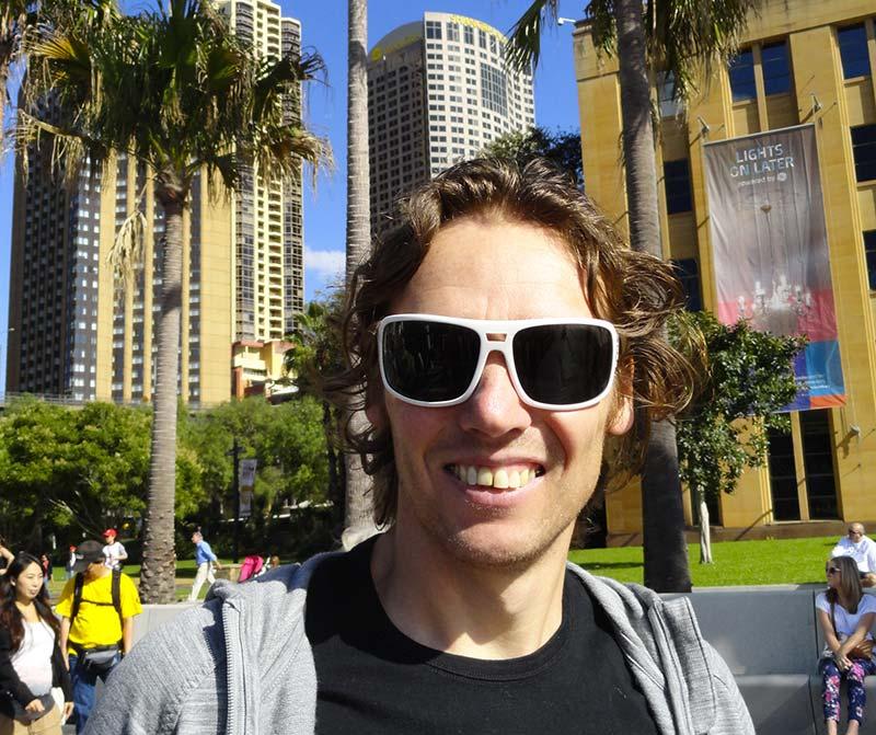 Fabrice, Partenaire Spécialiste Planet Ride en Océanie, organise votre voyage en Australie et en Nouvelle-Zélande en camping-car