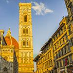 À Florence, lors de votre voyage en Italien en Fiat 500 avec Planet Ride et Roberta