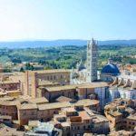 À Sienne, lors de votre voyage en Italien en Fiat 500 avec Planet Ride et Roberta