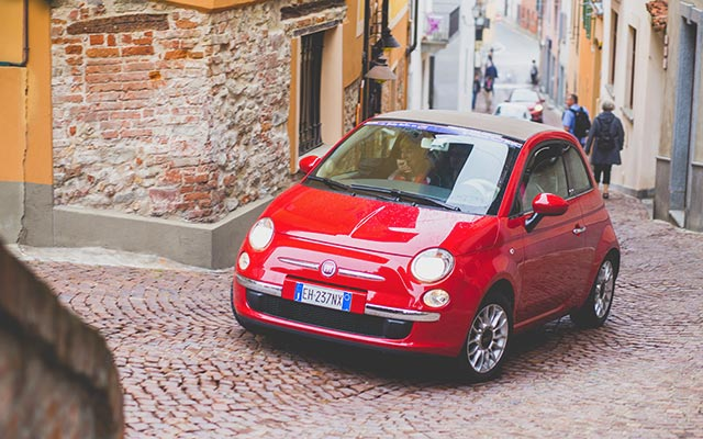 In a Village | Road Trip to Italy in a Fiat 500 convertible | Planet Ride