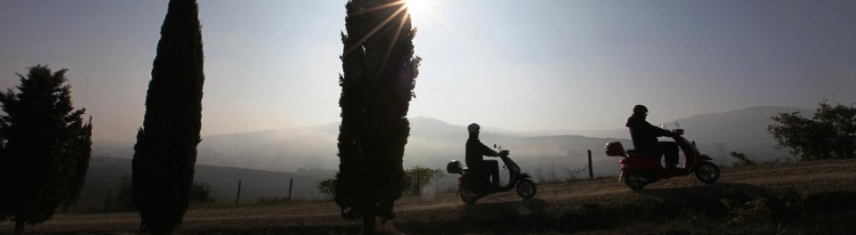 Umbria by Vespa - Scooter road- trip in Italy