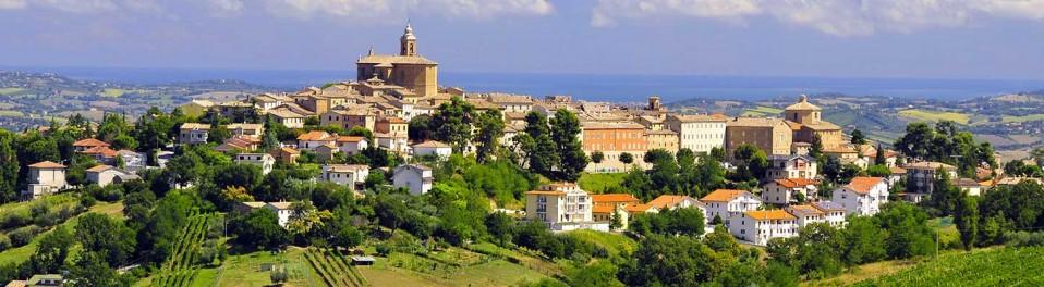 Montecarotto, lors de votre voyage en Italie en Vespa avec Planet Ride et Roberta