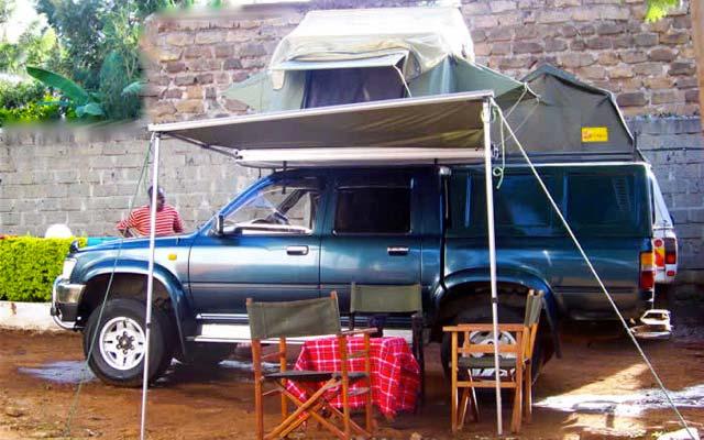 Toyota Prado, lors de votre voyage au Kenya et en Tanzanie avec Planet Ride et Carlo