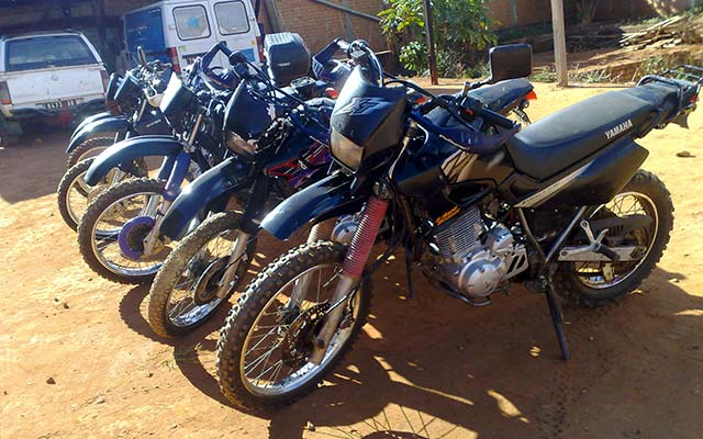Votre Yamaha XT 600, lors de votre voyage à Madagascar à moto avec Planet Ride et Jean