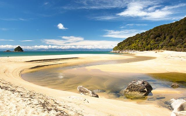 Abel Tasman National Park, lors de votre voyage camping car nouvelle zelande