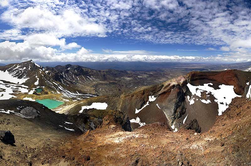 Le parc Tongariro, à découvrir en camping-car lors d'un voyage en famille en Nouvelle Zélande avec Planet Ride et Fabricengariro, à découvrir lors d'un voyage en famille en Nouvelle Zélande avec Planet Ride et Fabrice