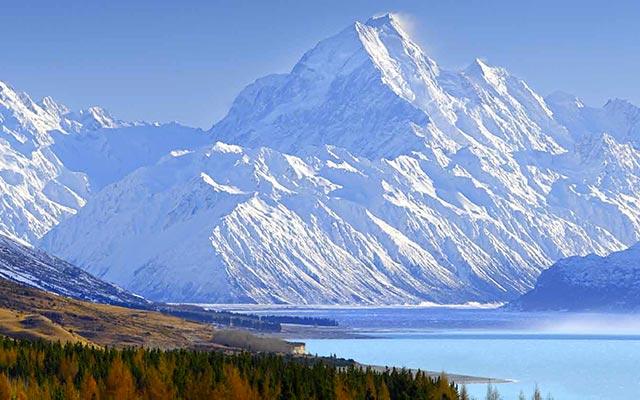 Mont Cook, lors de votre voyage en Nouvelle-Zélande en camping-car avec Planet Ride et Fabrice