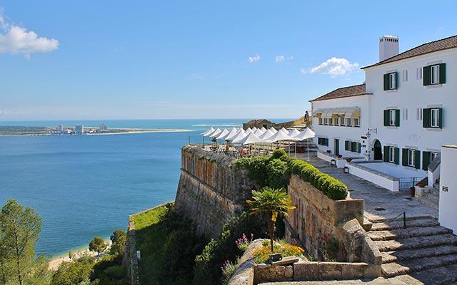 La côte à Setúbal, lors de votre voyage à moto au Portugal avec Planet Ride et João