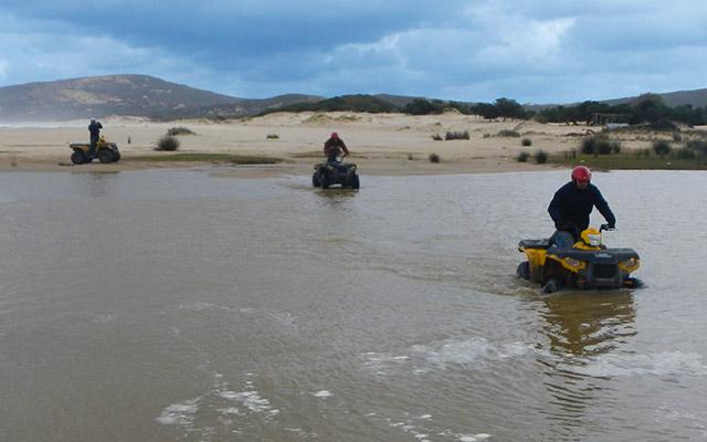 Voyage quad avec Planet Ride